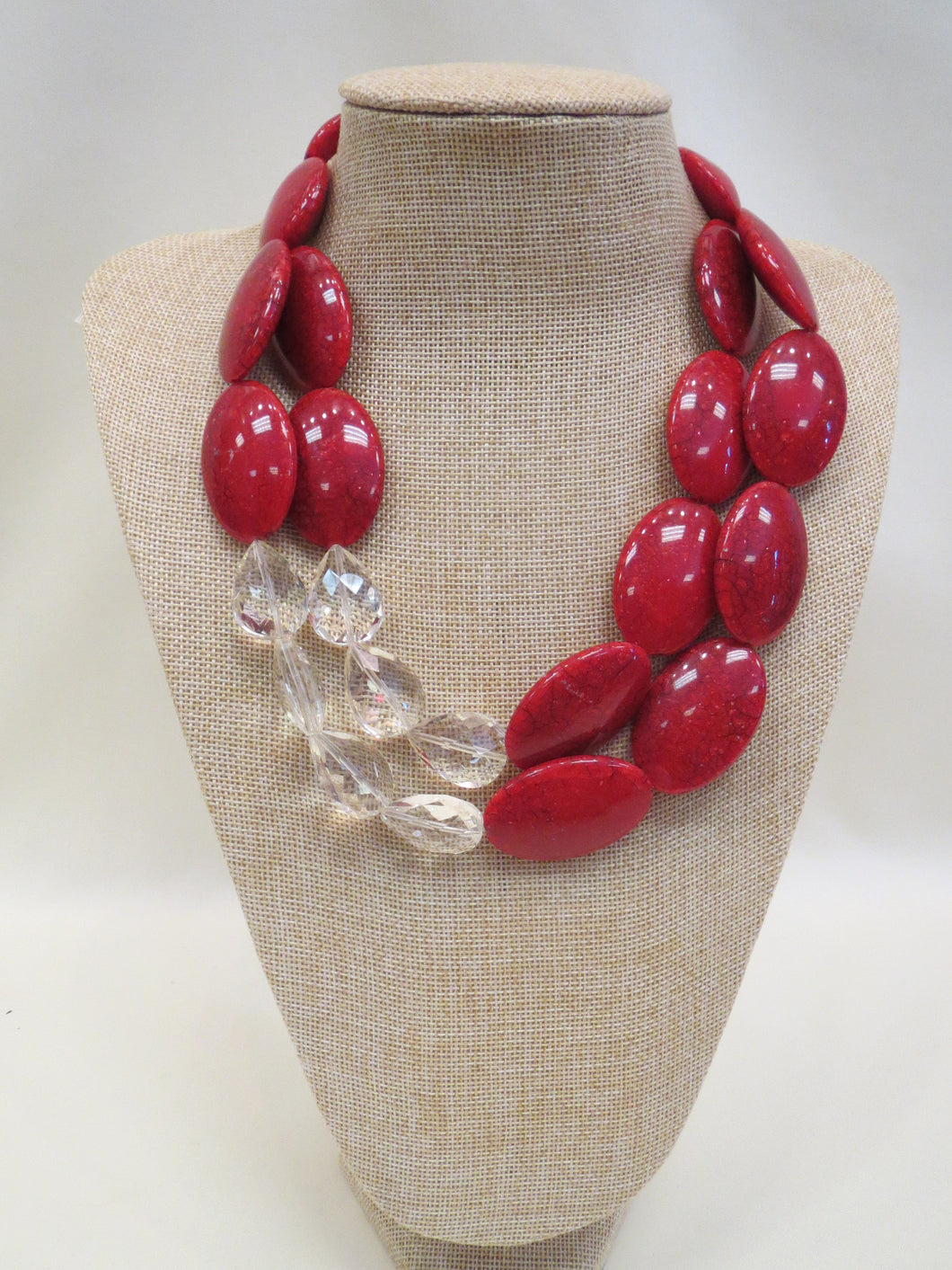 ADO | Red Stone Necklace