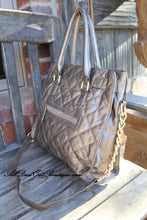 Luxcessories Inc. | Lock & Stud Purse Pewter