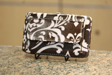 ADO | Damask Print Clutch Wallet Brown - All Decd Out
