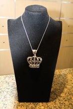 ADO | Crown Pendant Black Crystals - All Decd Out