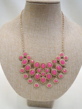 ADO Pink & Gold Bib Necklace | All Dec'd Out