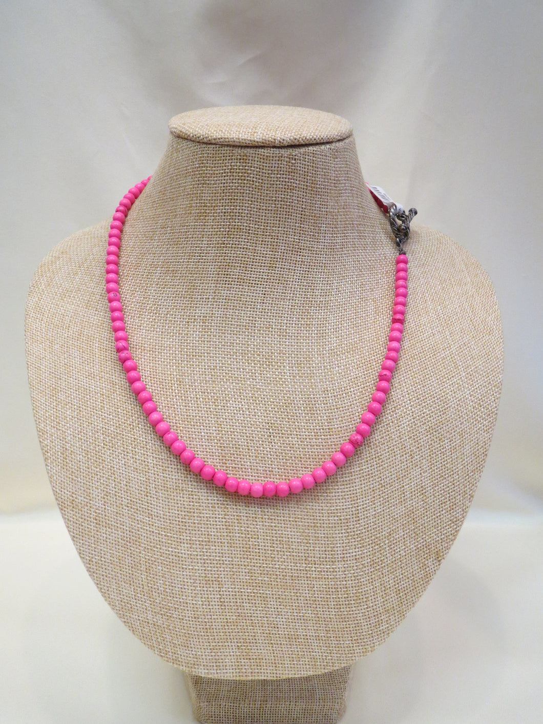 ADO Pink Beaded Necklace | All Dec'd Out