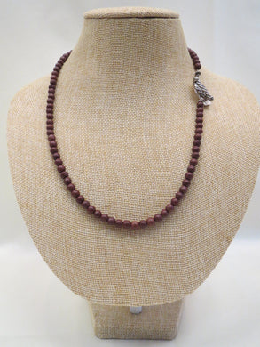 ADO | Brown Beaded Necklace - All Decd Out
