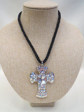 ADO | Cross on Rope Necklace - All Decd Out