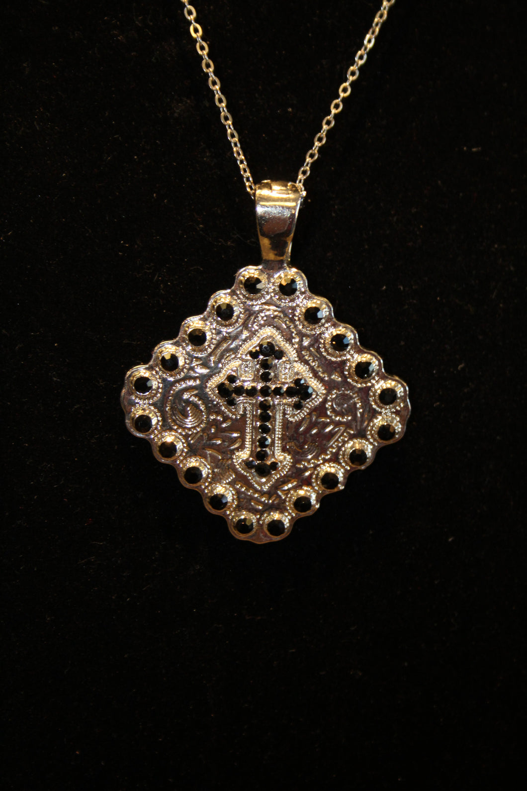 cross square image pendant ornate zoom silver wholesale celtic sterling