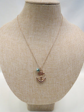 ADO | Anchor Charm Necklace - All Decd Out