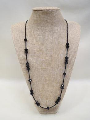 ADO | Black Crystal Necklace - All Decd Out