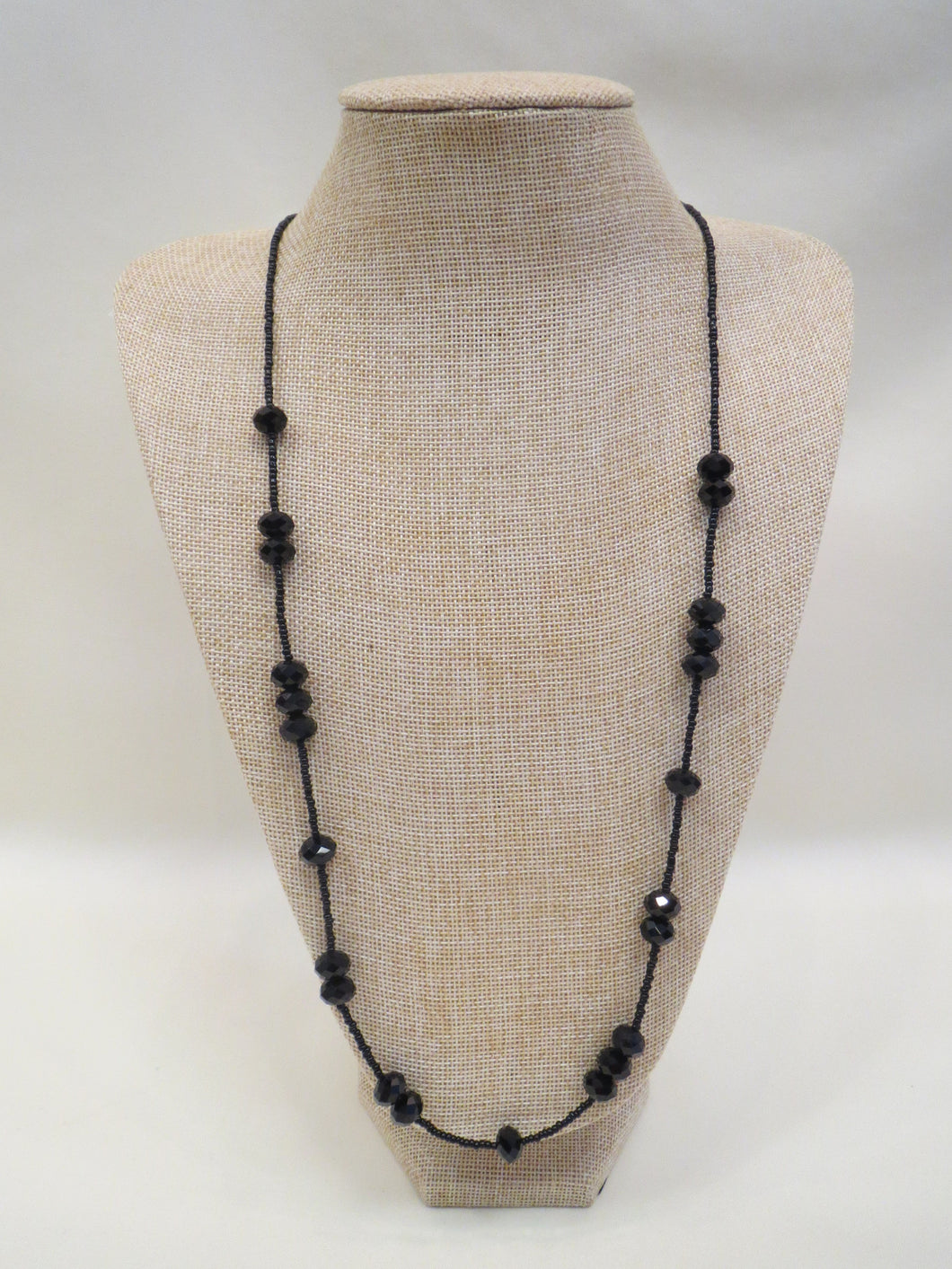 ADO Black Crystal Necklace | All Dec'd Out