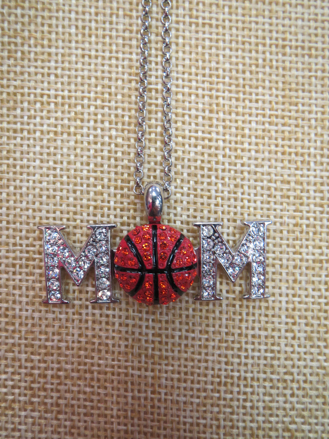 ADO | Hometown Pride Basketball Mom Necklace - All Decd Out