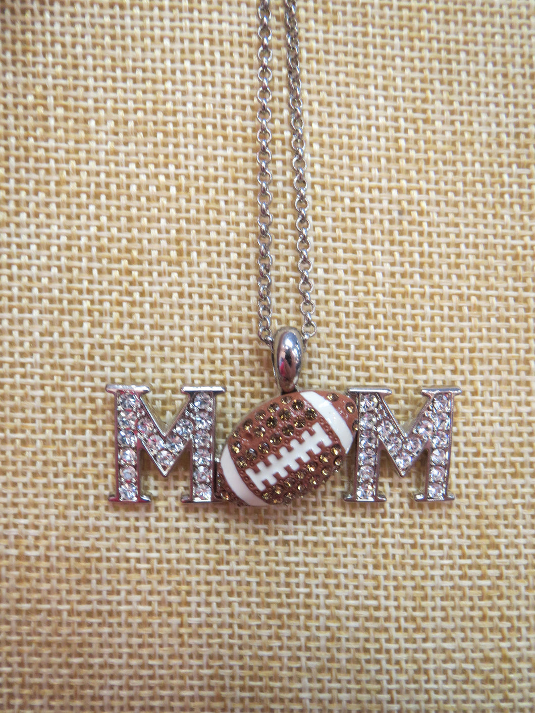 ADO | Hometown Pride Football Mom Necklace - All Decd Out