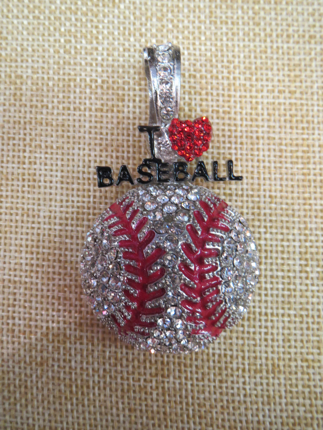 ADO | Hometown Pride Baseball Pendant - All Decd Out
