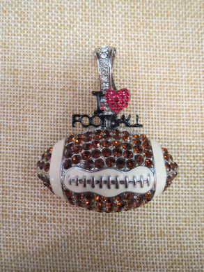 ADO | Hometown Pride Football Pendant - All Decd Out