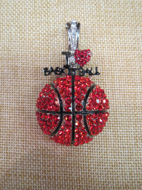 ADO | Hometown Pride Basketball Pendant - All Decd Out