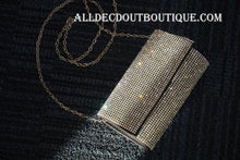ADO | Crystal Clutch Purse/Wallet Black - All Decd Out