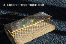 ADO | Crystal Clutch Purse/Wallet Gold - All Decd Out