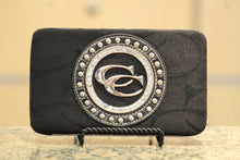 ADO | Black Bling Clutch Wallet