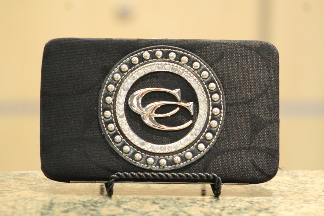 ADO | Black Bling Clutch Wallet - All Decd Out