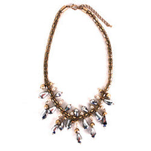 Treska | Gold, Pearl, Silver Fringe Necklace