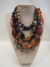 Treska Leopard Tribal Multi Layer Necklace | All Dec'd Out