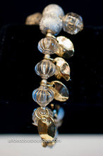 ADO | Gold Beaded Stretch Trinket Bracelet - All Decd Out