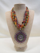 Treska Beaded Necklace with Pendant | All Dec'd Out