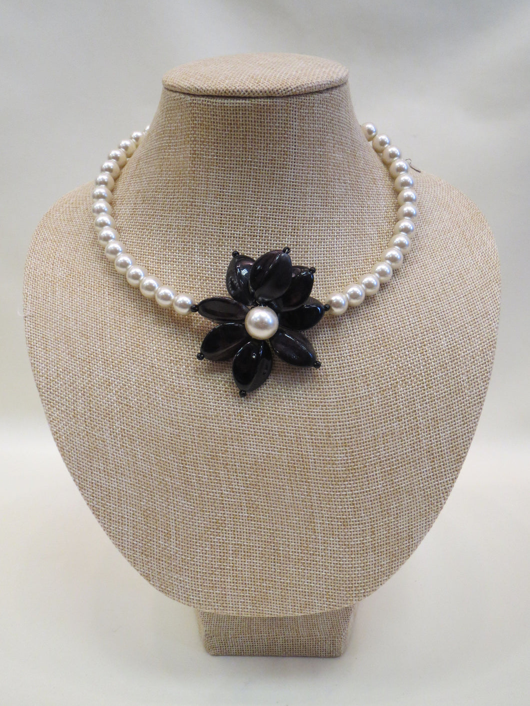 ADO Pearl Flower Necklace | All Dec'd Out
