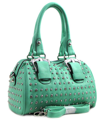 D'Orcia | Bling & Buckle Purse Green - All Decd Out