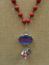 ADO | Hometown Pride Jayhawks Charm Rosary Necklace - All Decd Out