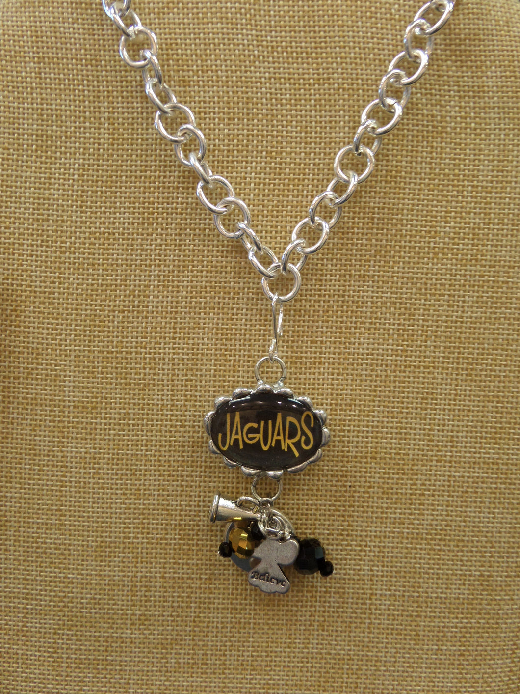 ADO | Hometown Pride Jaguars Charm Necklace - All Decd Out