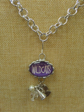 ADO | Hometown Pride Wildcats Charm Necklace - All Decd Out