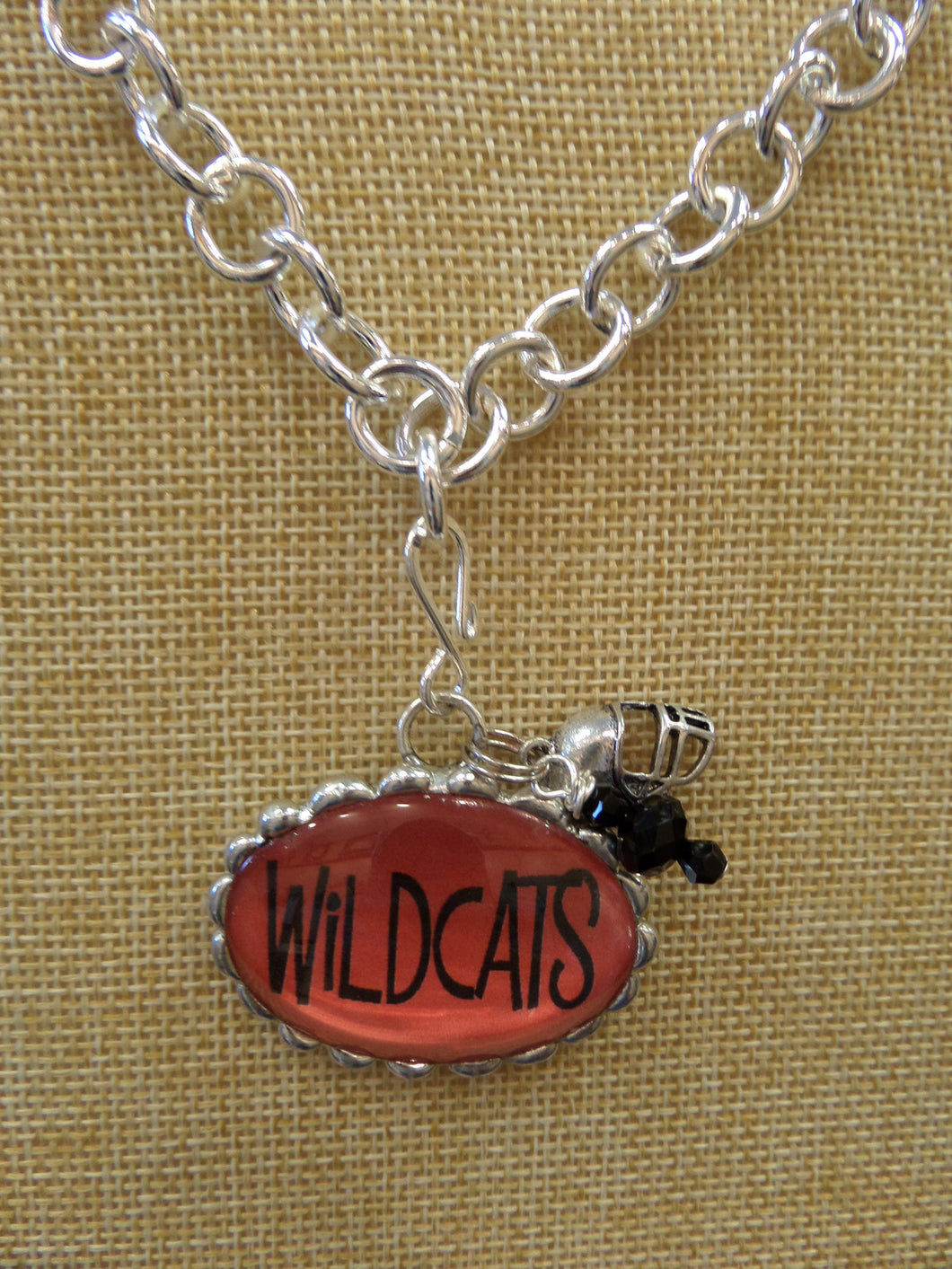 ADO | Hometown Pride Willdcats Charm Necklace - All Decd Out