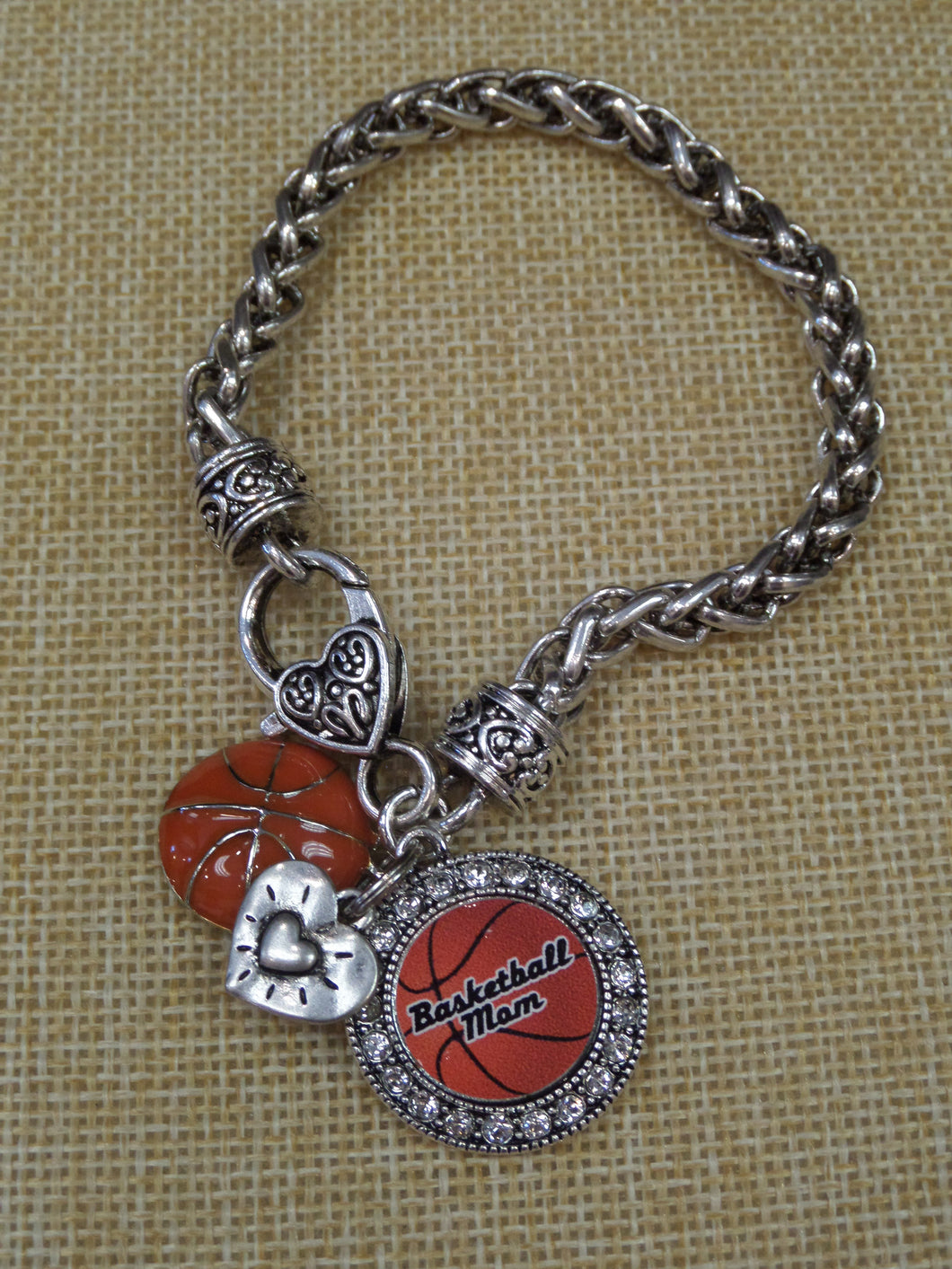 ADO | Hometown Pride Basketball Mom Bracelet - All Decd Out