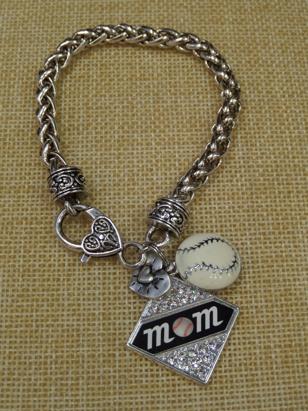 ADO | Hometown Pride Softball Mom Bracelet - All Decd Out