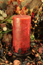 Pillar Candle Harvest Home Fall 2008 Cinnamon & Gingerbread Scented Candle