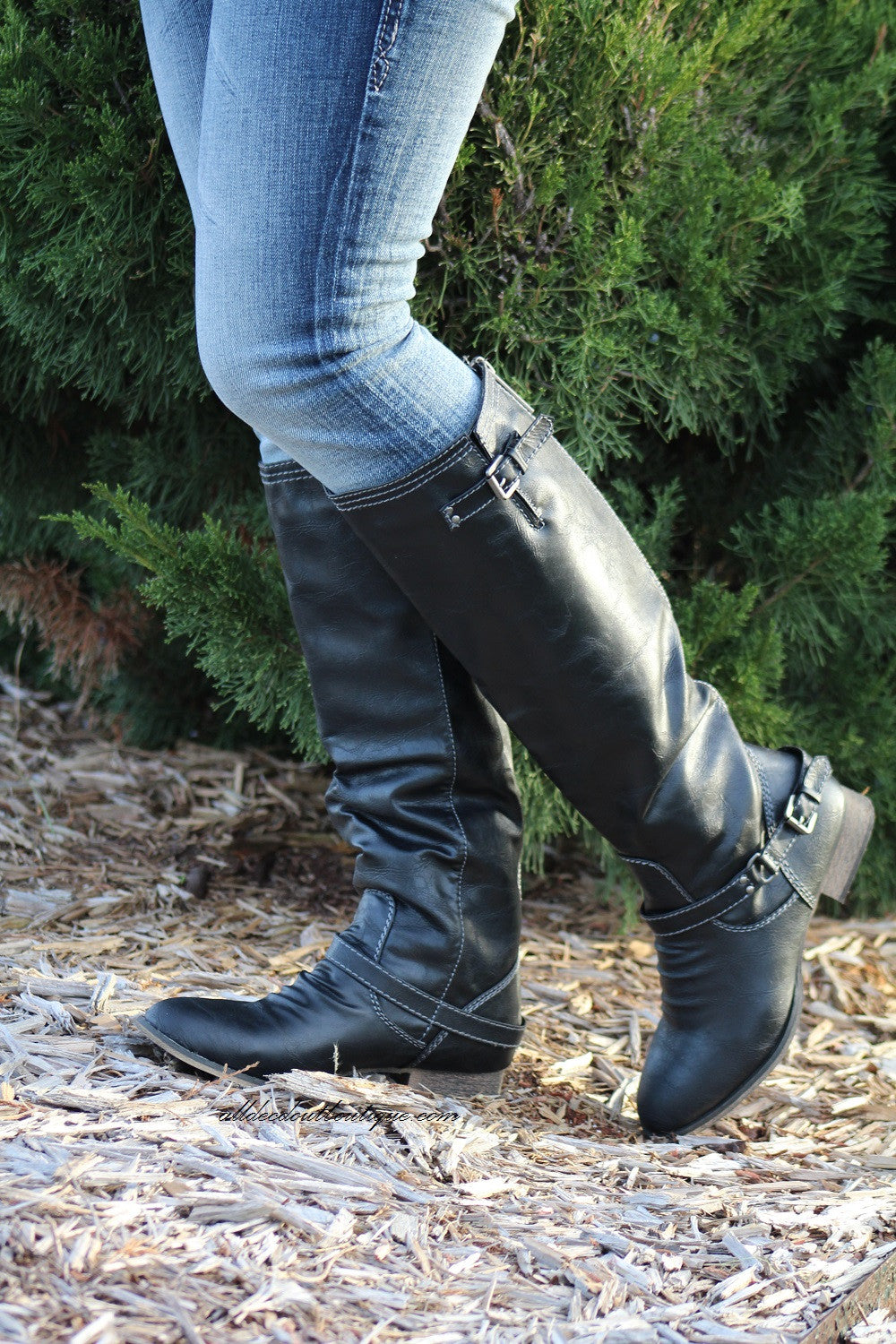Breckelle's | Outlaw Black Riding Boots