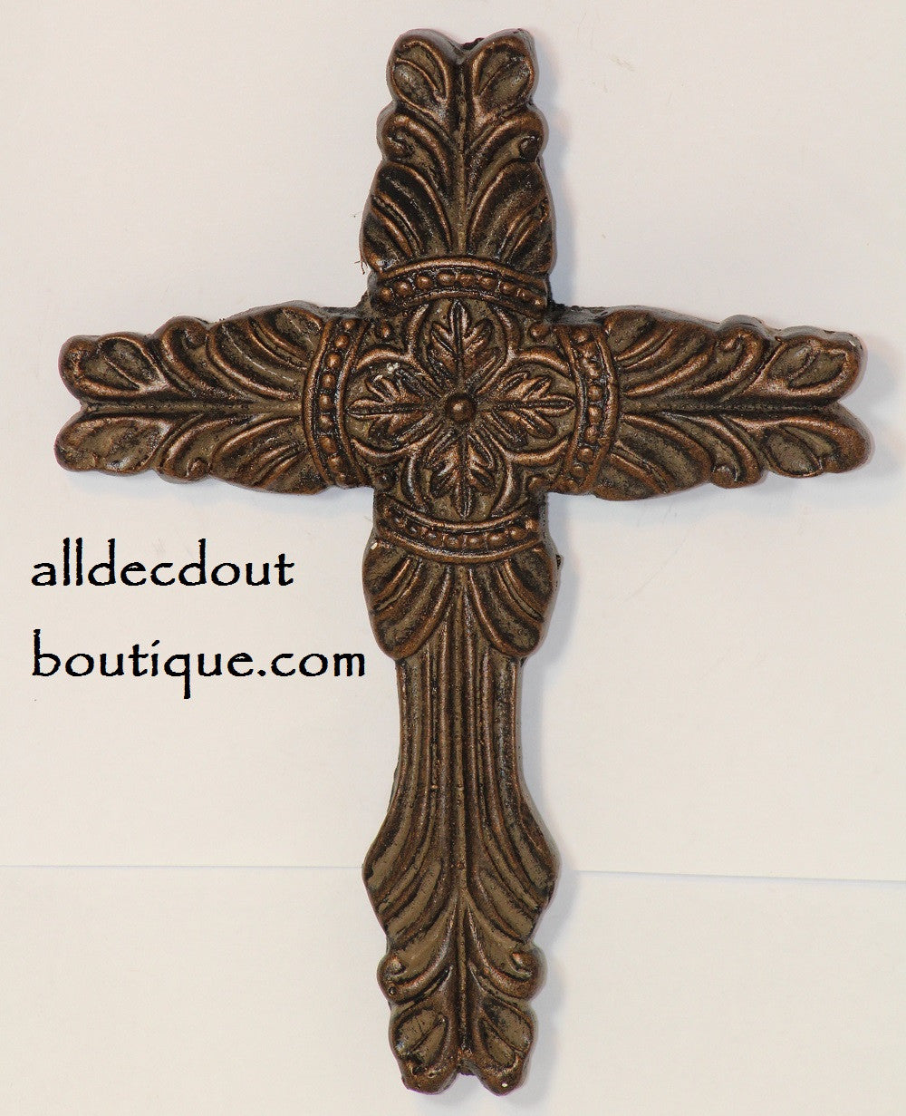 """Decorative Candle Pin/""""Blank/"""" Small Cross"""