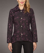 Firmiana | Button Up Jacket Magenta - All Decd Out