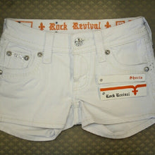 Rock Revival | Celine White Shorts - All Decd Out