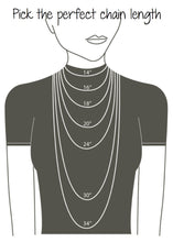 ADO | Dainty Black Chain necklace with Rhinestones - All Decd Out