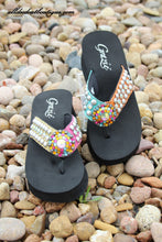 Grazie | Tribal Rainbow Sandals