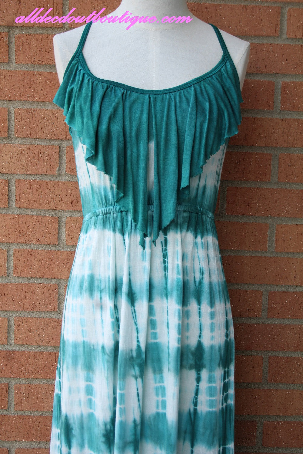 T*PARTY Maxi Dress Teal   All Dec\'d Out – All Decd Out