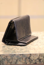 ADO |  Simple Black Trifold Wallet - All Decd Out