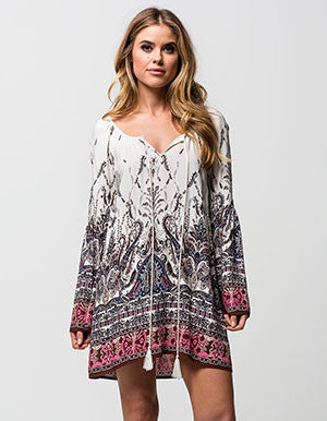 Blu Pepper | Bohemian Tunic Dress