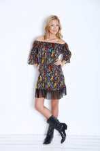 2 Tee Couture Multi Colored Fringe Dress | All Decd Out