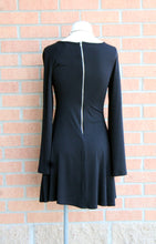 2 Tee Couture | Bell Sleeve Tunic Dress Black - All Decd Out