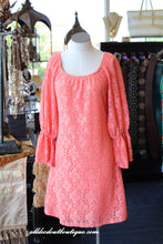 2 Tee Couture | Lace Dress Coral - All Decd Out