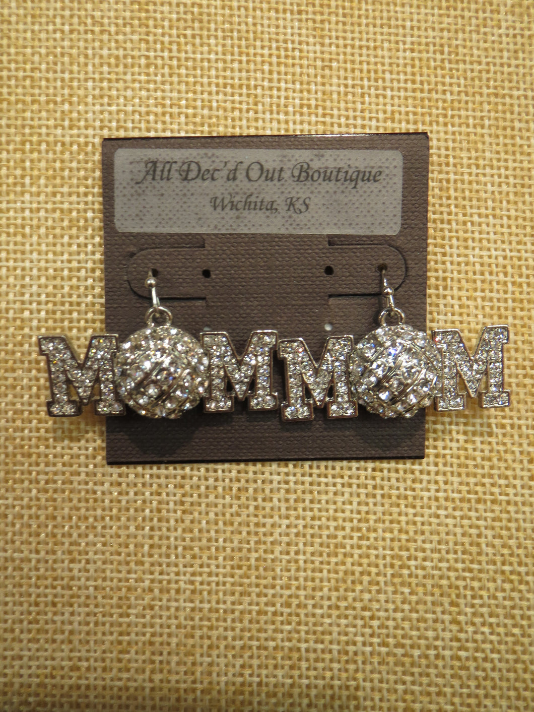 ADO | Hometown Pride Volleyball Mom Earrings - All Decd Out