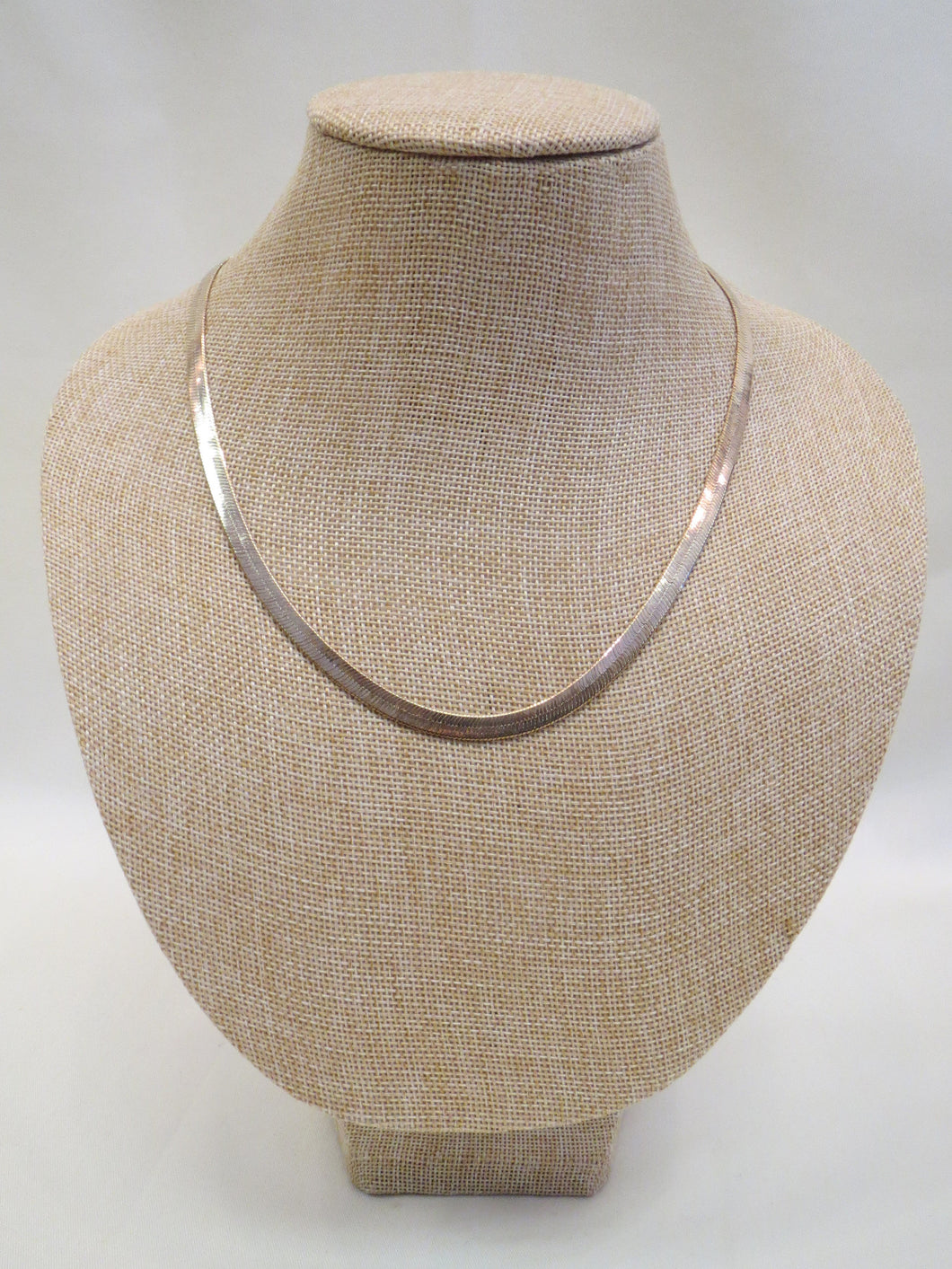 ADO | Gold Flat Chain Necklace Thick - All Decd Out