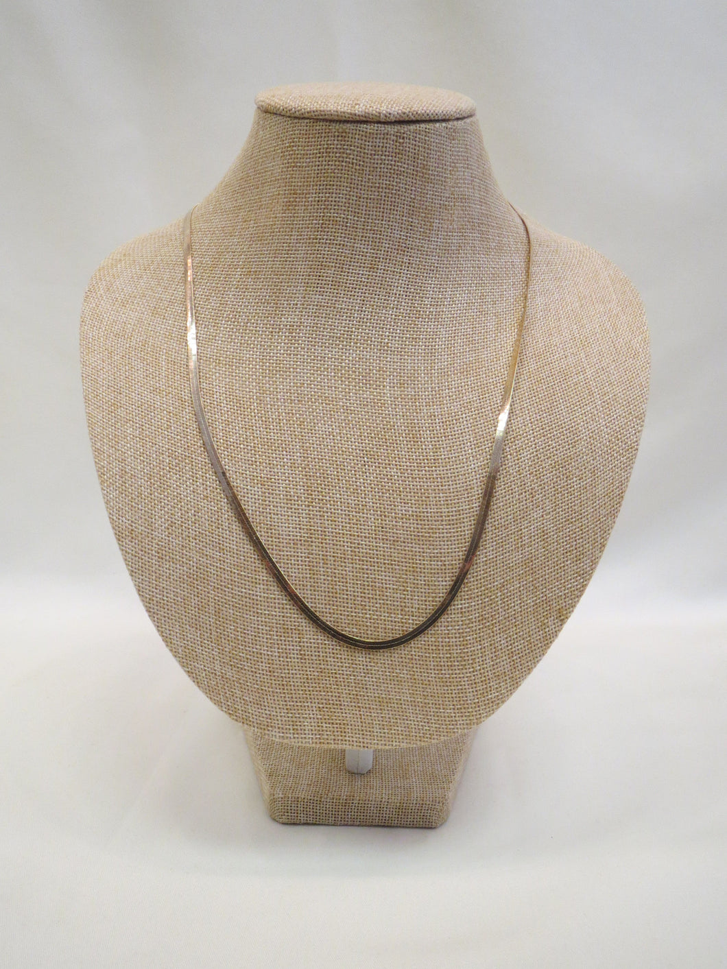 ADO | Gold Flat Chain Necklace Thin - All Decd Out