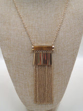 ADO | Gold Tassel Necklace Long - All Decd Out